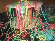 Colored spaghetti! More Spaghetti I Say story extension!!