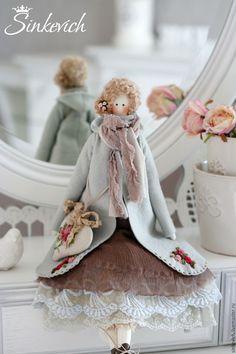 Купить Анна - тильда, кукла ручной работы, кукла в подарок, кукла интерьерная, кукла текстильная