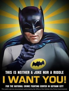 I Want You! #batman