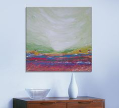 Purple valley FREE SHIPPING Original Oil by ImpastoOilPaintings, $248.00