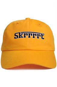 Nerdy Fresh Skrrrrt dad hat yellow