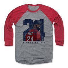 David Price Clutch B Boston Officially Licensed MLBPA Baseball T-Shirt Unisex S-3XL