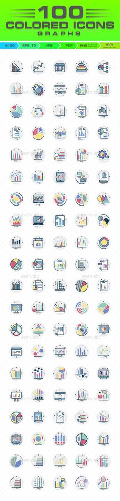 1107 best web icons images on pinterest in 2018 pictogram graph buy graph report and diagram color vector icons set by ranksol on graphicriver 100 graph report and diagram color vector icons set do you need graphs style ccuart Choice Image