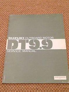 1990-1999 SUZUKI DT90 DT100 DT100S 2-STROKE OUTBOARD REPAIR