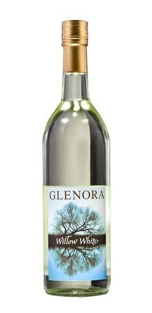 The Glenora Willow White wine is a pleasant, slightly sweet wine that has aromas of fresh grapes. ~ Glenroa Wine Cellars, Seneca Lake, Finger Lakes