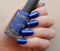 Kiko 266 Blu Oltremare | review on the blog