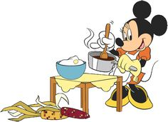 Mickey in the kitchen Mickey Mouse Pictures, Mickey Mouse And Friends, Mickey Minnie Mouse, Disney Mickey, Disney Nerd, Cute Disney, Walt Disney Characters, Cartoon Characters, Mickey Mouse Wallpaper
