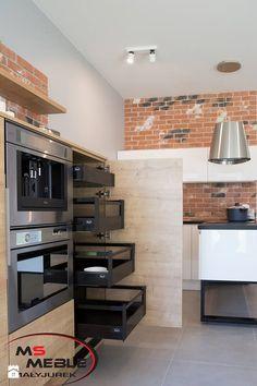 Kuchnia Loftowa - Kuchnia, styl industrialny - zdjęcie od MS-Meble Małyjurek