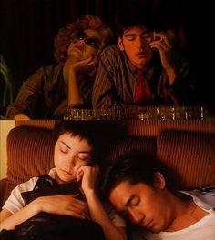 Chungking Express    Tony Leung and Takeshi Kaneshiro  Directed by the wondrous   Wong Kar-Wai