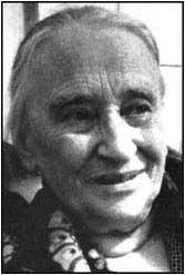 Memoirist Nadezhda Mandelstam ca. 1960s