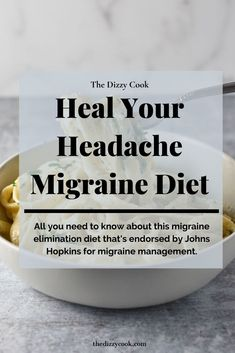 What is the Heal Your Headache diet from Dr David Buchholz and how it can decrease your migraine days. Learn lesser known potential triggers like nuts, avocado, and even citrus. Migraine Triggers, Chronic Migraines, Migraine Relief, Chronic Illness, Chronic Pain, Fibromyalgia, Headache Diet, Migraine Diet, Migraine Pain