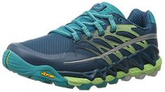 Merrell Women's All Out Peak Trail Running Shoe >>> Awesome product. Click the image : Outdoor Shoes