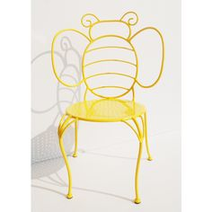 Garden Treasures Bumble Bee Chair How cute is this? Buzz Bee, I Love Bees, Bee Art, Bee Theme, Bees Knees, Mellow Yellow, Bee Keeping, Classroom Decor, Classroom Chair