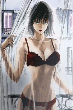 Anime Girl Hot, Pretty Anime Girl, Manga Anime Girl, Kawaii Anime Girl, Cute Anime Character, Character Art, Anime Cosplay Girls, Saitama One Punch Man, One Punch Man Manga