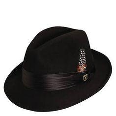 c0587ae4 Stacy Adams Men's Wool Felt Fedora Stacy Adams Suits, Hats For Men, Man Hats