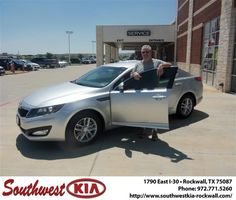 don reed was super. got the car I wanted at a very affordable payment. no hassle. will always recommend sw kia rockwall to all! -  DONALD HINDS, Thursday, September 26, 2013 http://www.southwestkia-rockwall.com/?utm_source=Flickr&utm_medium=DMaxx&utm_campaign=DeliveryMaxx