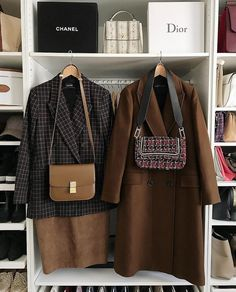Fifty shades of brown 🍂 [Werbung, da Markennennung] Smart Casual Wear, Casual Wear Women, Suits For Women, Clothes For Women, Fashion Mode, Modest Fashion, Korean Fashion, Womens Fashion, Female Fashion