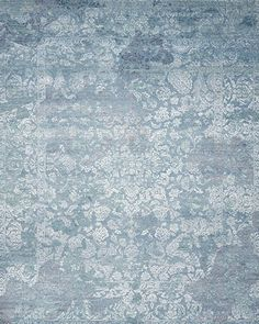 """Baynes+Damask+Rug,+8\'1""""+x+9\'11""""+by+KATHLEEN+MARIE+NEW+YORK+at+Horchow."""