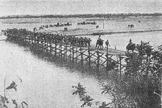 Crossing of Rovuma, by 28th Portuguese Infantry.