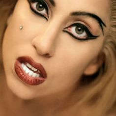 lady gaga eye makeup - Google Search