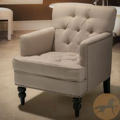 Christopher Knight Home Malone Beige Club Chair | Overstock.com - $257