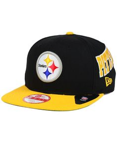 Mitchell   Ness Pittsburgh Steelers Throwback Laser Stitch Snapback ... fb4c13675