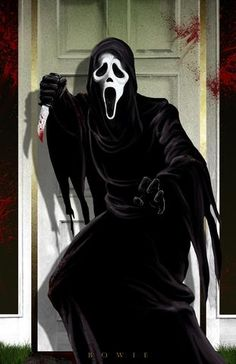 Ghostface by Damon Bowie [©2016]