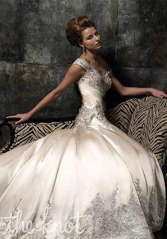 Check out this #weddingdress: 13068 by Stephen Yearick via iPhone #TheKnotLB from #TheKnot