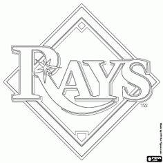 baseball coloring pages teams - photo#4