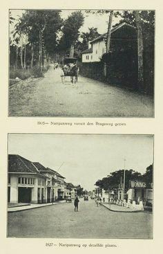 Bandoeng Naripanweg 1905 & 1927.