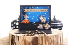 Just ME: pop-up halloween card (lawn fawn inspiration week)