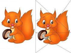 Sostengo il Sostegno Fall Preschool Activities, Toddler Learning Activities, Animal Activities, Theme Nature, Grande Section, Fallen Book, Matching Cards, Fox Art, School Themes