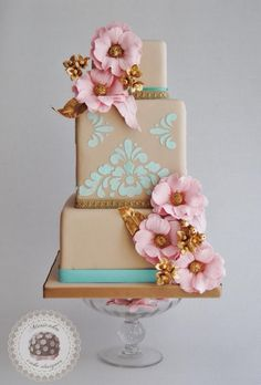 Versailles wedding cake - Cake by Mericakes
