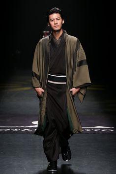 Men's kimono. Jotaro Saito FW 2015.