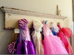 Creative Dress Up Storage