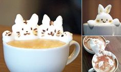 Kazuki Yamamoto, from Okayama Prefecture, Japan, has perfected the craft of making animals out of frothy milk. His most popular work is a cat reaching into a second cup to catch fish.