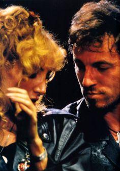 Bruce Springsteen and Patti Scialfa! Paris 1988