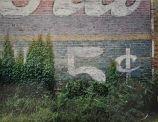 5 Cent, Demopolis, Alabama, 1978,  Vintage Dye-Transfer 43,7 x 55,9 cm, edition of 17 @ William Christenberry