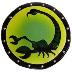 Wooden Scorpion Shield