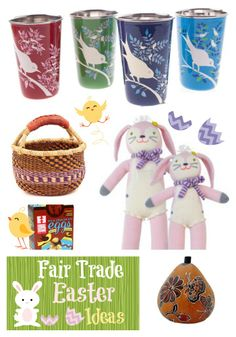 Five kid-friendly gifts for a Fair Trade Easter! #easter #fairtrade
