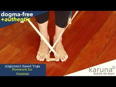 Yoga for Bunions, Toe, Ankle & Foot Tension - YouTube