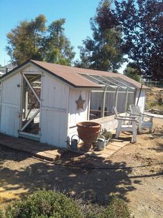 Chicken coop, want my hubby to build this for me.