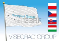 Visegrad Group flag, Europe
