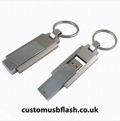 F120 Twister/Swivel Flash Memory, Shopping Stores, Usb Flash Drive, Personalized Items, Cool Stuff, Metal, Metals, Usb Drive