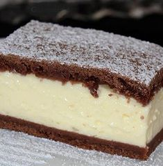 Sweet Desserts, No Bake Desserts, Sweet Recipes, Tiramisu, Food To Make, Recipies, Cheesecake, Deserts, Fudge