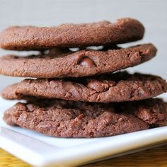 "Chocolate Chocolate Chip Cookies II | ""Followed the directions exactly and they were wonderful."""