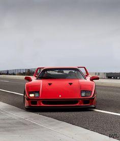 Car pornography — Starring: Ferrari By Dylan Lambert Ferrari F40, Lamborghini Aventador, Super Sport Cars, Super Cars, Sexy Cars, Hot Cars, Jdm, Muscle Cars, Latest Cars