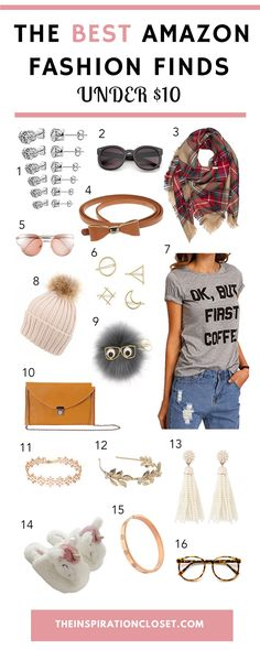 Things to Buy on Amazon Right Now- the BEST fashion finds under $10!