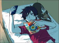 Ao No Exorcist -Rin and Kuro