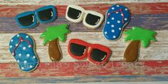 4th of july and summer cookies